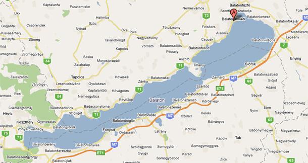 balaton térkép északi part részletes Balatoni apartman   olcsó szállás   kerékpárosok a Balatonnál balaton térkép északi part részletes